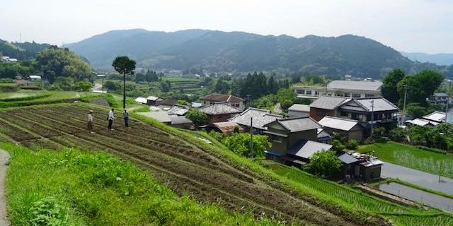 香美市の風景_佐岡